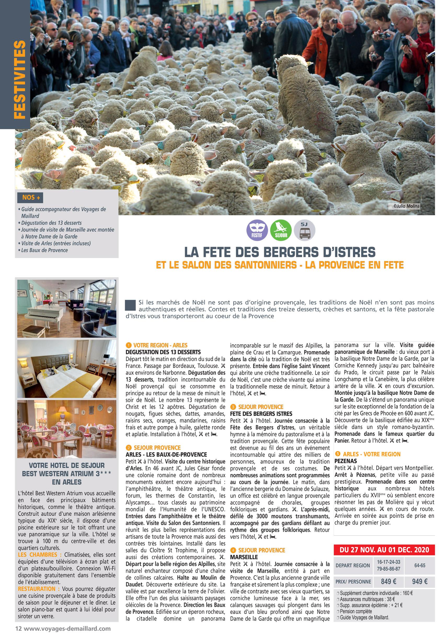 LA FETE DES BERGERS D'ISTRES
